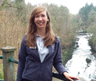 Lori, chairperson of the University of Salford's Wildlife Society